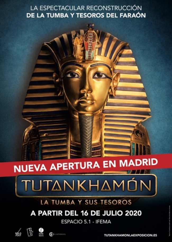 tutankhamon:-la-tumba-y-sus-tesoros-en-madrid